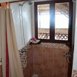 Shower in Seaview suite