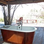 copper deck tub