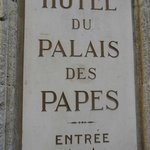 Photo de Hotel du Palais des Papes