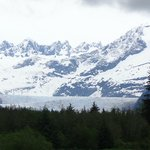 Our first view of the Glacier