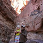 Our Bedouin Traditions guide with our two-year-old