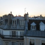 Morning Paris - view from room