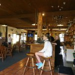 Punakaiki Tavern: view of the tavern bar indoors