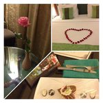 hotel complimentary for our wedding anniversary