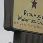 Sign Now they are: Richmond Grand Hotel & Convention Center