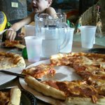 delicious pizza-good size for the money