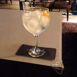 The local Valencia Gin in my G&T