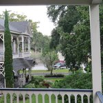 View from Second Story Porch of Hearthstone House
