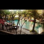 the swimming pool, join with novotel solo