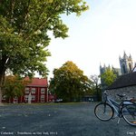 Taking-Bike-to-Nidaros-Cathedral_by-CherryMnitan