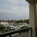 View of Sani Marina from our room