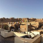 Rooftop view from Mystic Jaisalmer