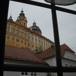from our room, the Abbey at Melk