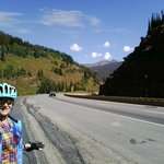 Top of Vail Pass bike trail