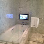 Suite Bathtub with TV