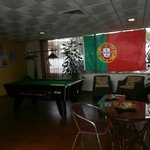 Communal area /bar/ TV /Pool table