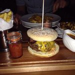 Amazing burger from Murtys Bar