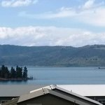 Lake Jindabyne from room balcony
