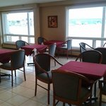 A view of our newly renovated dining area.
