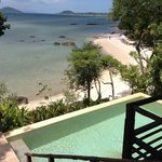 View from beachside villa  - thats your private pool