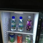 free minibar on first day