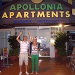 Apollonia Holiday Apartments resmi