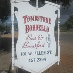 Foto de Tombstone Bordello Bed and Breakfast
