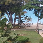 "View from our ""ocean view"" room at RIU Palace Tropical Bay"