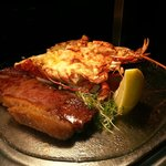 Steak & Lobster Dish. Lobster available for advanced booking only