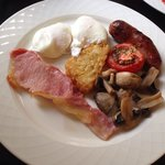 Full English at The Claremont. x