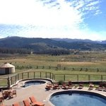 pool - hot tub - big meadow