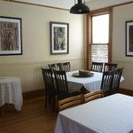 Dining area at Pelton House