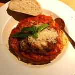 Chicken Parmigiana ~ Very good
