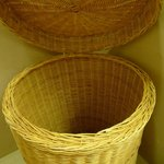 Basket is provided to store your dirty cloths