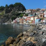 Beautiful Parga and the Avra snuggled into the top.