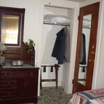 Room 7, Unfortunately the only drawers available. Good thing there was a closet and a suitcase s