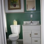 Room 7, Commode and sink