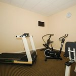Keep your workout schedule in our fitness center!