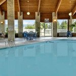 Enjoy swimming in our heated indoor pool.