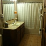 bathroom in suite #7A