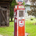 Loved this old gas pump out back!