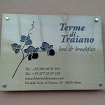 Billede af Terme di Traiano Bed and Breakfast