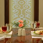 personal dining room in citron restaurant