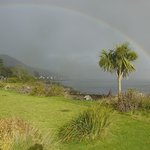 Photo taken from front of hotel looking out to 'Kyles of Bute'