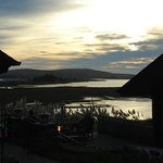 Bodega Bay Lodge at sunset