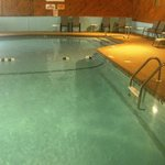 nice warm clean indoor pool