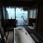 Ocean Villa - view from the bathroom