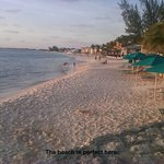 Gorgeous white sand beach, stunning sunsets every evening on the beach