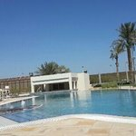 in the Regency Hotel Kuwait 5 Pools.. 1 Regular Big Pool and 1 Olympic Pool and 2 Children Pool