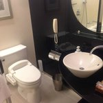 Standard Double Bathroom - Basin and Toilet